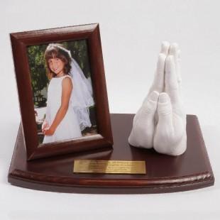 Zestaw odlewu 3D dłoni dla Dziewczynki na Komunię Świętą.