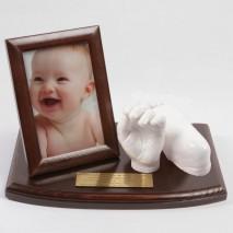Dłoń i stopa dziecka - zestaw do odlewu gipsowego. 0-1 lat.