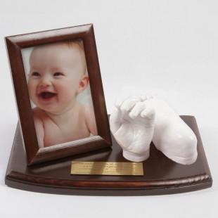 Dłoń i stopa dziecka - zestaw do odlewu gipsowego. 1-3 lat.
