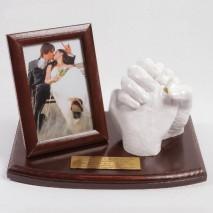 Uścisk miłości zakochanych - pełny zestaw do odlewu 3D.