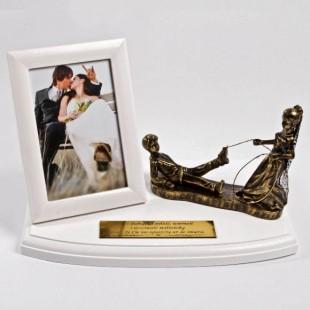 Pamiątka z humorem na ślub lub rocznicę ślubu.