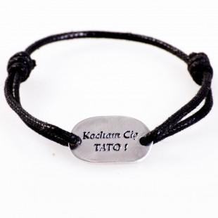 Biżuteria z dowolnym napisem Twojego autorstwa w czystym srebrze.